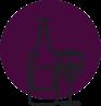 Picto vin rose