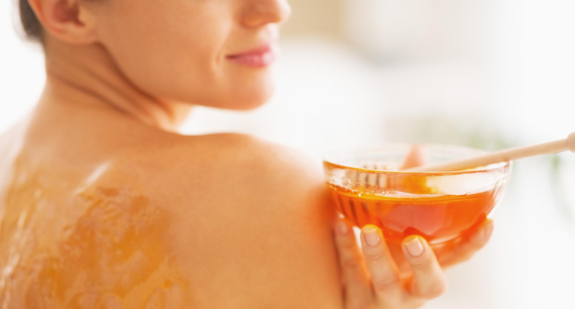 Le miel pour la peau
