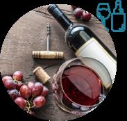 Visuel d'une bouteille de vin