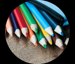 Visuels de stylos et crayons
