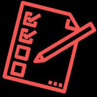 Pictogramme listes de courses